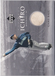 Ultimate Collection Ichiro Game Ball Silver /50
