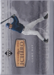 Ultimate Collection Ichiro Game Bat Silver /250