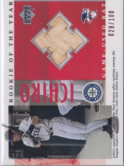 Upper Deck R.O.Y. Game Used Bat #B-18 /100
