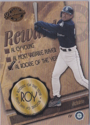 Donruss Class of 2001 Final Rewards R.O.Y.