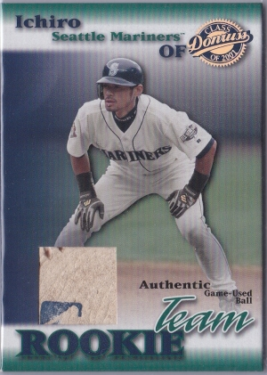 Donruss Class of 2001 Authentic Team Rookie /50