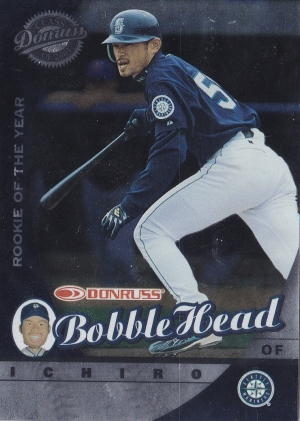 Donruss Class of 2001 Bobble Head Sealed /1000