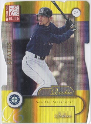 Donruss Elite Status Gold Die-Cut Missing Serial #