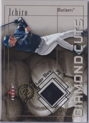 Fleer Authority Diamond Cuts Hat