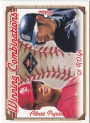 Fleer Platinum Winning Combinations Red Hobby /250