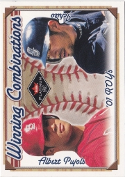 Fleer Platinum Winning Combinations Blue Retail