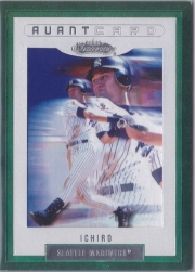 Fleer Showcase Avantcard Jeter Pictured on Front Error