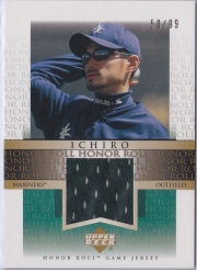 Upper Deck Honor Roll Game Jersey Gold  J-I1 /99