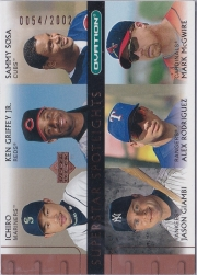 Upper Deck Ovation Superstar Spotlights Spokesman /2002