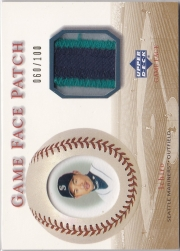 Upper Deck Game Face Patch /100