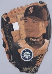 Fleer Showcase Hot Gloves Die Cut