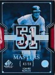 SP Game Used Patch MLB Masters /50