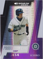 Donruss Production Line Die Cut /100