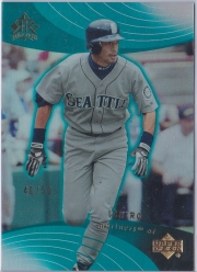 Upper Deck Reflections Turquoise /50