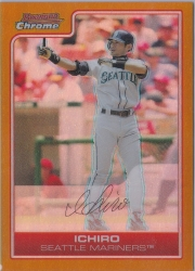 Bowman Chrome Gold Refractor Missing Serial #