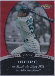 Topps Finest Finest Moments #15IS Red Refractor /25
