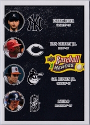 Upper Deck Baseball Heroes Black Multiplayer