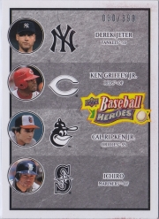Upper Deck Baseball Heroes Charcoal Multiplayer /399