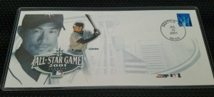 2001 All Star Game Envelope