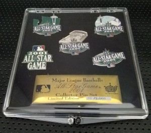 2001 All Star Game Pin Set 2001