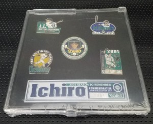 2001 Season to Remember Pin Set 10000