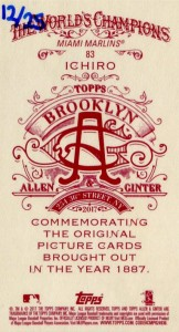 Allen & Ginter Brooklyn Back /25