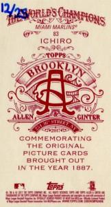 Allen & Ginter Brooklyn Back /25