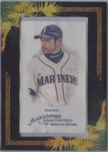 Allen & Ginter Framed Silk /10
