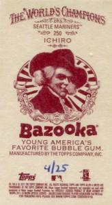 Allen Ginter Mini Bazook Back /25