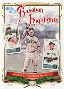 Allen & Ginter Baseball Highlights Cabinet Card