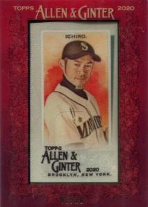 Allen & Ginter Framed Silk Mini /10