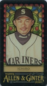 Allen & Ginter Stained Glass Mini #393 /25