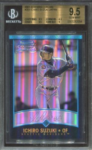 BGS 2001 Bowman Chrome Japan