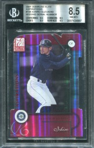 BGS 2001 Donruss Elite Aspirations /49