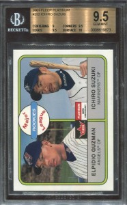 BGS 2001 Fleer Platinum