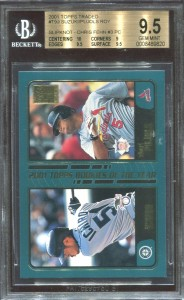 BGS 2001 Topps Traded ROY Chris Fehn PC