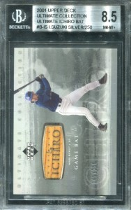 BGS 2001 Ultimate Collection Ultimate Bat Silver /250