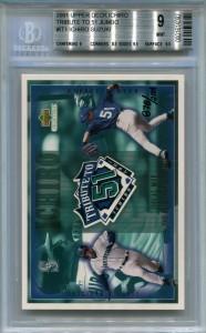 BGS 2001 Upper Deck Tribute to 51 Jumbo Bonus /2001