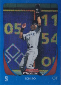 Bowman Chrome Blue Refractor /150