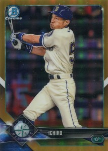 Bowman Chrome Gold Refractor /50