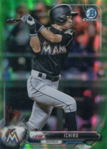 Bowman Chrome Green Refractor /99