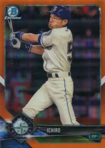 Bowman Chrome Orange Refractor /25