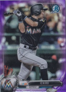 Bowman Chrome Purple Refractor /250