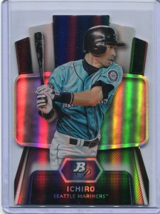 Bowman Platinum Cutting Edge Stars Die Cut
