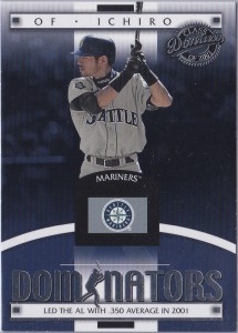 Donruss Class of 2001 Dominators