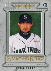 Donruss Diamond Kings Press Proof Gold /25