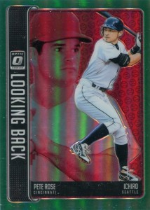 Donruss Optic Looking Back Green Refractor /5