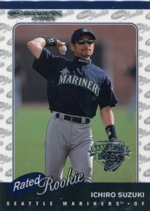 Donruss Rated Rookie Baseball's Best Silver /499