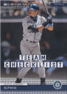 Donruss Team Checklist