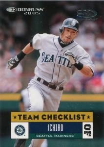 Donruss Team Checklist 25th Anniversary /25